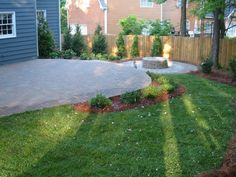 Paver Patio and Fire Pit  Landscape Installation - RPM Landscape & Pavers - Atlanta, GA