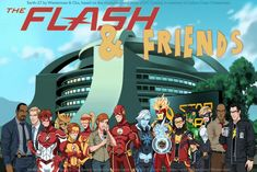 and I am the fastest man alive. To the outside world, I'm an ordinary forensic scientist; Rosters] The Flash and Friends Flash Art, The Flash, Flash Characters, Flash Tv Series, Character Art, Character Design, Comic Art, Comic Books, Star Labs