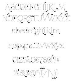 """10 Free Fonts for Your Art and Design"" by Redbubble  #journal #lettering #typography"