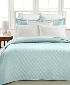 Charter Club Damask Quilted King 3-Pc. Coverlet Set, Only at Macy's - Quilts & Bedspreads - Bed & Bath - Macy's