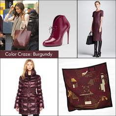 Color Craze: Burgundy!