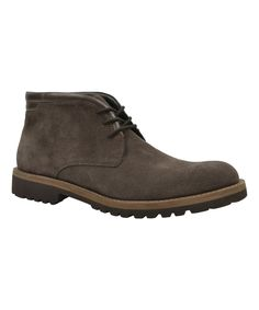 Brown Leather Damien Boot
