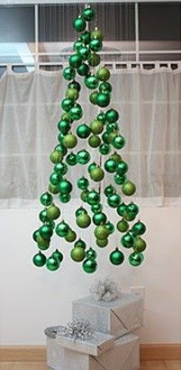 Best Winter Wedding Decorations Ever - Floating Ornament Christmas Tree