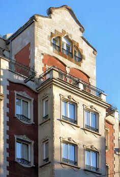 Casa J. Seguí  1914  Architect: Antoni de Falguera i Sivilla