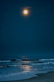 Snail Shell, Moon Child, Night Skies, Sky, Celestial, Outdoor, Blue, Night, The Moon
