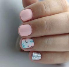 Cuticle Care, Gelish Nails, Manicure And Pedicure, Nails Inspiration, Hair Beauty, Polish, Nail Art, Spring, Baby