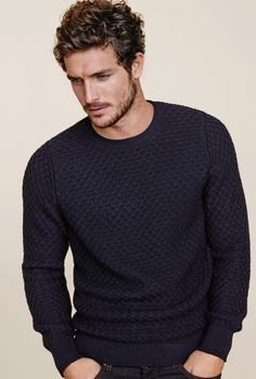 oh my, he is taking over my Tom Hardy Love!!! help!!   Extrafine merino wool round-neck sweater