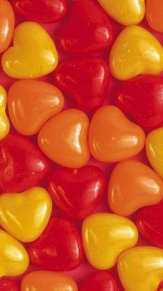 Pin By Color Palette Thyme On Red Yellow Orange Palette In 2020 Heart Shaped Candy Love Heart Heart Wallpaper