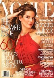 Vogue: Sandra Bullock