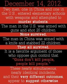 This may make more sense to some people.  We need gun control. Period.