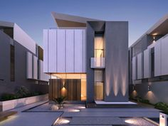 50 Stunning Modern Home Exterior Designs That Have Awesome Facades | My Home  | Pinterest | 50, Home And Modern Houses