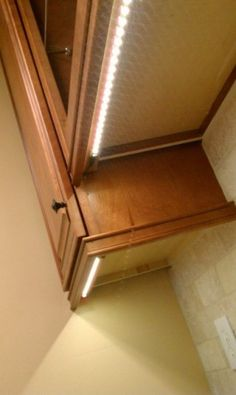 under cabinet lighting. Can I recreate this with rope lights? Esp on after christmas sale