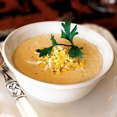 She-crab Soup recipe from coastalliving.com