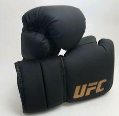 50b4a500f Boxing, Martial Arts and MMA. Sporting Goods · eBay #Sponsored Zuffa UFC  Gloves 10oz Black w/ Gold Font Muay Thai MMA Kick