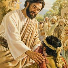 Jesús hace el bien, sana a un hombre