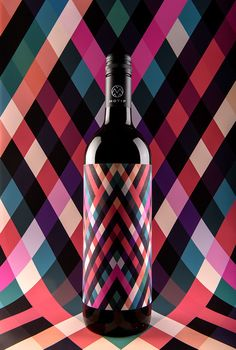 MOTIF Fine Art Wine on Packaging Design Served