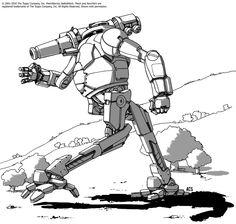 Battletech - Jackal by Shimmering-Sword on deviantART