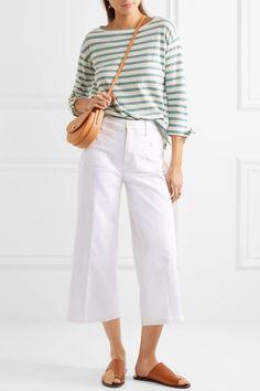 Madewell   Cropped wide-leg jeans   NET-A-PORTER.COM