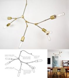 DIY Chandelier from Lindsey Adelman