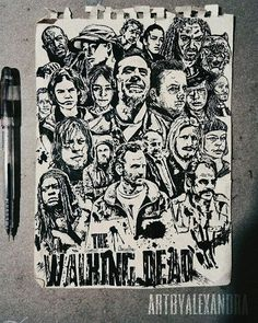 i just wanna share my recent TWD fanart i made. after several days!!! The Walking Dead S8 characters. Hope you likeee it! and i hope twd cast and this page will notice this! using signpens on berkeley sketch pad. i have more twd fanarts on my instagram account! @artbyalxndra #artbyalexandra #twd #twds8 #TheWalkingDead #amctwd #amcthewalkingdead #negan #rick #daryl #michonne #maggiegreene #carolpeletier #carlgrimes #artist #fanart #art #artwork #ballpenart #signpen #berkeley #TheWalkingDead…