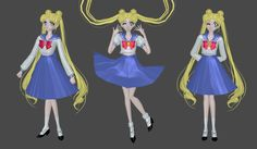 Usagi school uniform 1 manga mesh mod by Lopieloo on DeviantArt Sailor Moon Usagi, Princess Zelda, Disney Princess, School Uniform, Video Game, Disney Characters, Fictional Characters, Aurora Sleeping Beauty, Deviantart