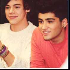 Harry Styles and Zayn Malik they are flawless