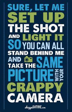 關於攝影的幽默海報 | 攝影札記 Photoblog - 新奇好玩的攝影資訊、攝影技巧教學