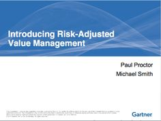 """In """"The Phoenix Project,"""" we use a technique based on the Gartner Risk-Adjusted Value Model to link top company objectives to IT work. Here's how. Risk Management, Phoenix, Revolution, Link, Projects, Model, Top, Log Projects, Blue Prints"""