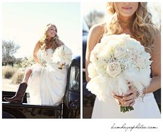 Charla Corn wedding.  Most gorgeous bouquet ever!!! Photos by Kim Hayes Photography