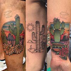 Een zandloper tattoo maar dan niet vullen met zand, maar met symbolen, zoals Arizona <3