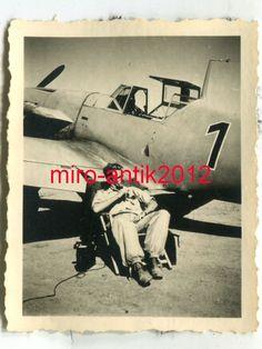 Foto, Me 109 Bf 109, Pilot Liebhold, Kastelli, JG 27, Kreta, Griechenland, (G) 2 | eBay