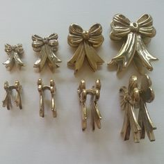 Ribbon Weights in brass