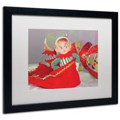'Dreams of Xmas' by Patty Tuggle Framed Photographic Print