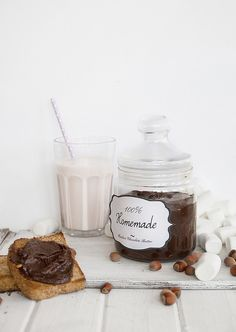 homemade chocolate nutella
