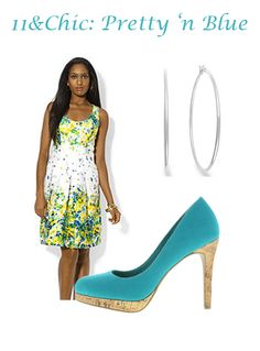 "View ""Pretty 'n Blue"" and where to purchase items at 11andChic.com"