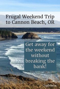 Want to get away to the Oregon coast without spending an entire paycheck? Check out these great tips! Oregon Vacation, Oregon Road Trip, State Of Oregon, Oregon Travel, Oregon Coast Roadtrip, Travel Portland, Portland Oregon, Canon Beach Oregon, Places To Travel