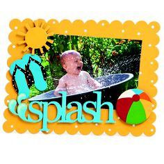 Embellish Your Story Magnets - Splash!  From $9.95  www.madmoose.com