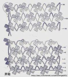 OFICINA DO BARRADO: Croche - Barrados finalizados com fios diferenciados...