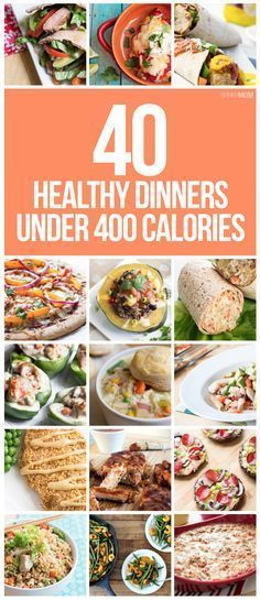 Cut calories without cutting taste with these 40 recipes all UNDER 400 CALORIES!