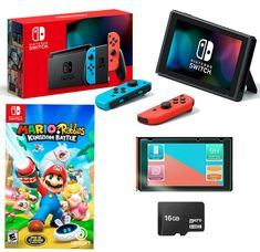 Nintendo Switch Animal Crossing, Xbox One Controller, 4g Wireless, Mario, Battle, Joy, Charger, Games, Store