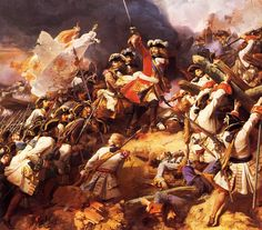 07/24/1712 : Maréchal de Villars and French infantry defeat Prince Eugen and imperial forces at the battle of Denain.