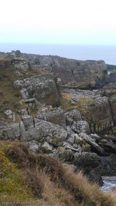 Clogherhead - Where ancient northern rocks meet ancient southern rocks and form the Iapetus Suture across Ireland.