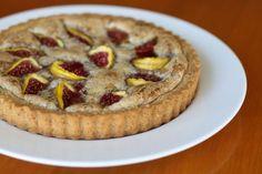 Vegan almond tart!