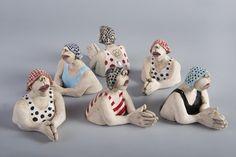 keramiek in blik-Ans Vink | Sculptures | Pinterest