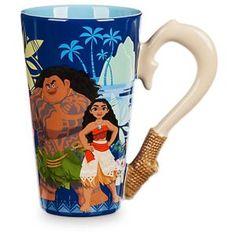Moana Coffee Cup Disney Store - Hawaiian