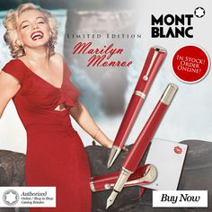 Announcing the Montblanc Marilyn Monroe Special Edition - Order Online!