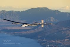 Training flights in Hawaii by solarimpulse Transportation Photography #InfluentialLime
