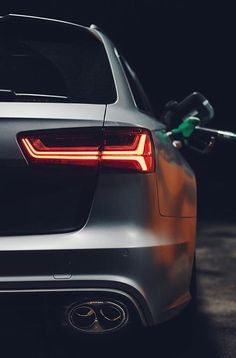 Filling Up The RS6 Performance