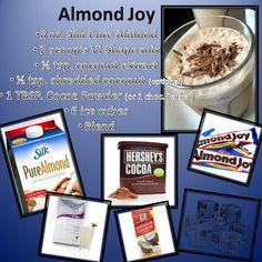 Almond Joy vi-shake