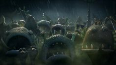 Lighting & Rendering with V-Ray for Maya, Composited in Nuke.  Created at Aardman Animations.  Directed by Steve Harding Hill Produced by Helen Argo Production…